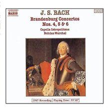 J. S. Bach-Beandenburg Concertos Nos. 4, 5 & 6 CD