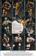 2001-02 Parkhurst by ITG Boston Bruins Regular Team Set (15)