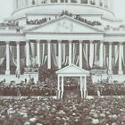 Washington DC President McKinley Delivering 2nd Inaugural 1901 Stereoview F453