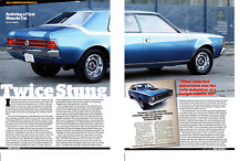 1971 AMC HORNET SC/360 (285 HP) ~ GREAT 4-PAGE ARTICLE / AD