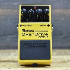 Boss ODB-3 Bass OverDrive Onboard Two-Band Equalizer Bass Overdrive Effect Pedal