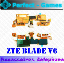 ZTE BLADE V6 connecteur de charge connector board power USB charging port flex
