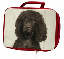 More details for irish water spaniel dog insulated red school lunch box/picnic bag, ad-iwslbr