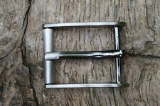 Metal Roller Buckle TO FIT 30mm Strap / Belt dark silver replacement buckle BA