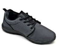 Mens Womens Lightweight Fashion Trainers Shoes Black Grey White New Sizes Colour