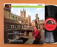 ALP 2055 Handel Concerti Grossi Yehudi Menuhin Bath Festival 1964 HMV Mono EX/VG