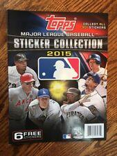 2015 Topps MLB Baseball Sticker Book - NEW