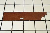 "Sturdy ""Saharan Sandstone"" Brown Scrap Leather Hide Approx. 4 sqft. RK38M22-7"