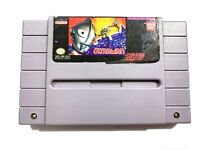 Ultraman Super Nintendo SNES Video Game - Tested - Working - Authentic!