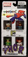2011 MARVEL MINIMATES SDCC THE MIGHTY THOR STORMBREAKER BOX SET OF 4 FIGURES MIP