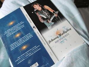 Johhny Hallyday Parc des Princes 1993 3 CD Coffret Philips Phonogram 518412-2