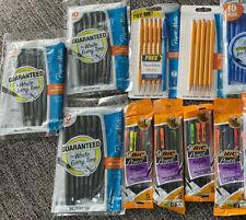 Huge Lot 60 Mechanical Pencils Pens Paper Mate 2 Lead 0 7 Mm 10 Ball Point