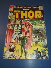 Journey Into Mystery #113 Silver age Thor VG+ Origin of Loki JP