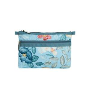 LeSportsac Classic Collection Cosmetic Clutch Make Up Bag in Floral Daydream NWT