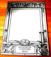 ALT Wand-Spiegel Jugendstil Vintage Shabby Retro Sammler Deko Bar Druck Motiv