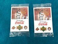 2001 Upper Deck Coca-Cola Cal Ripken Jr. Baseball Cards  ( 4 card set) 2 Packs