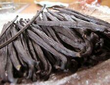 "1/4 LB Madagascar Bourbon Vanilla Beans Grade B 6"" - 7"" Gourmet Free Shipping"