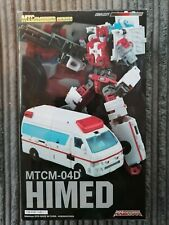 Rare Maketoys Third Party Transformers Combiner MTCM-04D Himed/ First Aid Figure