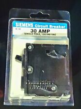 Siemens Q-130 30 Amp Single Pole 120/240 Vac Circuit Breaker. New in Package