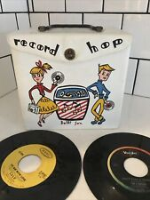 Vintage Record Holder 45s Record Hop Plus 40+ 45 Records