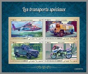 DJIBOUTI 2020 ** Spezialtransporter Polizei Police #10-615aB