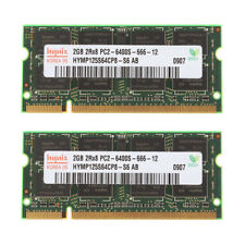 4GB (2X 2GB) DDR2-800MHz PC Laptop Notebook Memory PC2-6400 SO-DIMM SDRAM 200pin