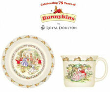 ROYAL DOULTON BUNNYKINS 2PC CELECBRATING 75TH ANNIVERSARY COLLECTION