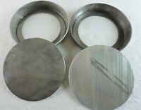 "Lot of 2 MIRRO Round Cake Pans w/ Removable Bottoms 1179M Aluminum 9"" x 1 1/2"""