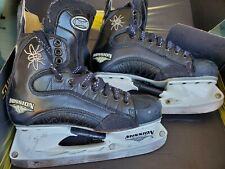 New Listing Mission Black Fly Sr. Ice Hockey Skates Size 7.5D