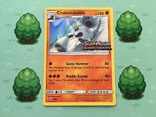 Pokemon - Crabominable - SM47 - Prerelease Promo STAFF - SM Burning Shadows