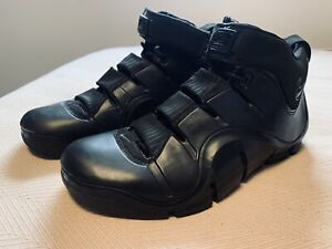 2006 Nike ZOOM LEBRON IV 4 Black Out 314647-001 Sz 13