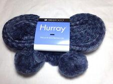Berroco Hurray Mohair Blend Yarn 8610 Indigo Blue Finger Knit