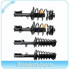 For Toyota Camry Lexus	ES300 Set 4 Complete Strut Shock Coil Spring Assembly