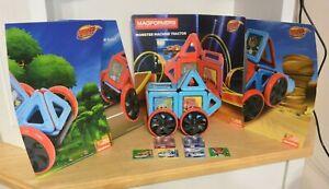 Blaze & The Monster Machines Magformers Rare! Build Trucks