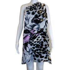 Bellissima Collections DESIGNER Animal Print Chiffon Dress Size 14 - $260