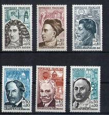 France 6 timbres non oblitérés gomme**  29  Célébrités