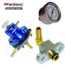 CARBURANTE mSv regolatore di pressione carburante + MANOMETRO KIT SUBARU IMPREZA WRX & STI (92-00)