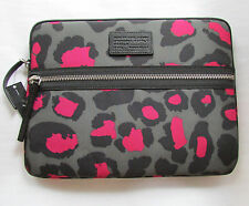 "Marc by Marc Jacobs 13"" Laptop Sleeve Domo Arigato Raspberry Sorbet NEW"