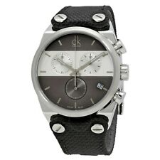 NEW Calvin Klein K4B381B3 Eager Chronograph Men's Watch UK SELLER WARRANTY