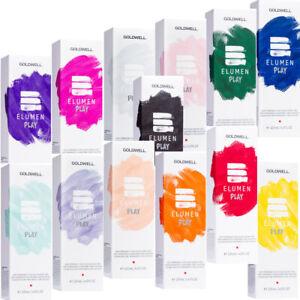 Goldwell Elumen PLAY Nuancen 120ml, auswaschbare Haarfarbe, Glanz, Farbecht