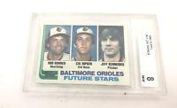 1982 Cal Ripken Jr Topps BCCG 8 Rookie Card MLB Baltimore Orioles 132-L