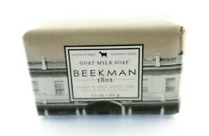 Beekman 1802 Goal Milk Soap Honey Cats Scrub Bar With Cocoa Butter USA Seller