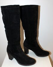 Rome Street suede knee high boots women Eur 37 US-Aus 6.5 UK 4.5 USED