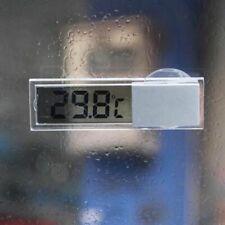 Car Truck LCD Digital Temperature Sensor Indoor Outdoor Sucker Thermometer  US
