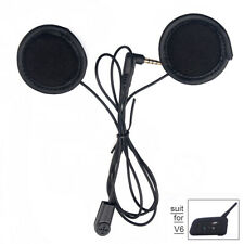 Soft cable Headphone Earphone Mic/ Headset for Motorcycle Helmet V6/V4 Intercom