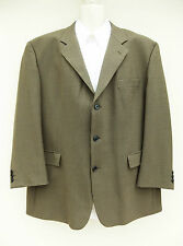 """GIBSON COLLECTIONS - MENS BROWN MIX SMALL CHECK JACKET - 46"""" REG"""