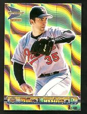 2000 Pacific Prism MIKE MUSSINA Gold Insert /480 ~ Rare