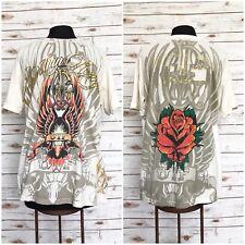 CHRISTIAN AUDIGIER UNIF Shirt Men's Cotton Crewneck Graphic T-Shirt Size XL