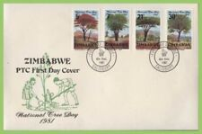 Trees First Day Cover Zimbabwe Stamps (1965-Now)