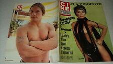 CINE REVUE 72/47 (23/11/72) GAIA GERMANI JOE DALLESANDRO BERNADETTE LAFONT